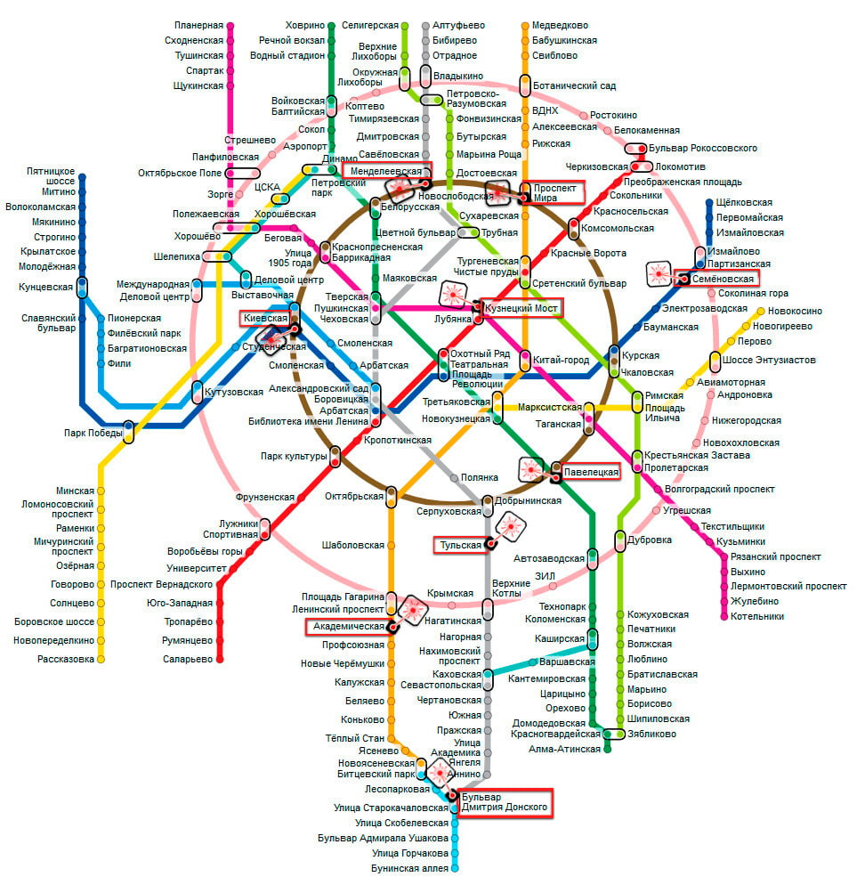 Мастерские Масетр Лазер на карте метро